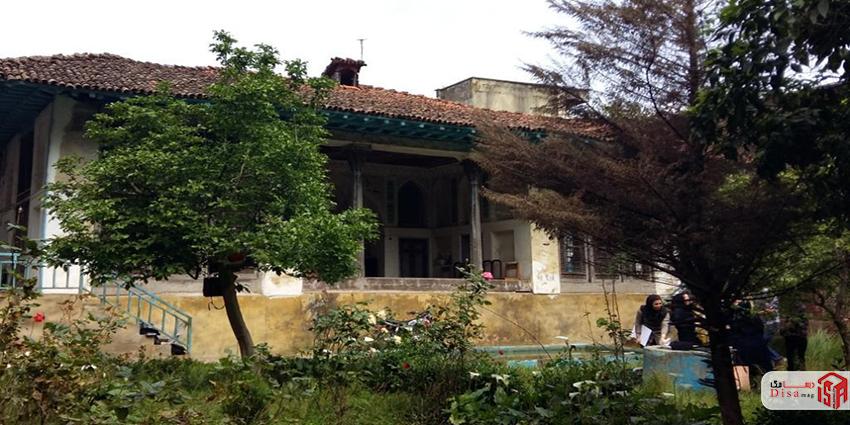 معماری خانه صادقی لاهیجان