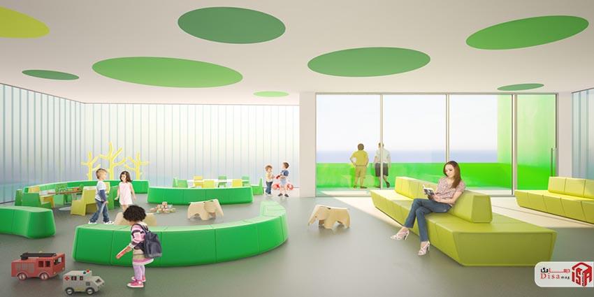 رساله طراحی بیمارستان کودکان