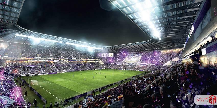 رساله طراحی استادیوم فوتبال